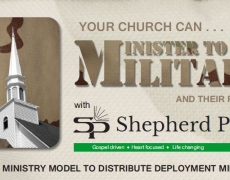 Unique Military Ministry Opportunity
