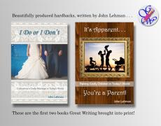 Designing and Branding books by John Lehman
